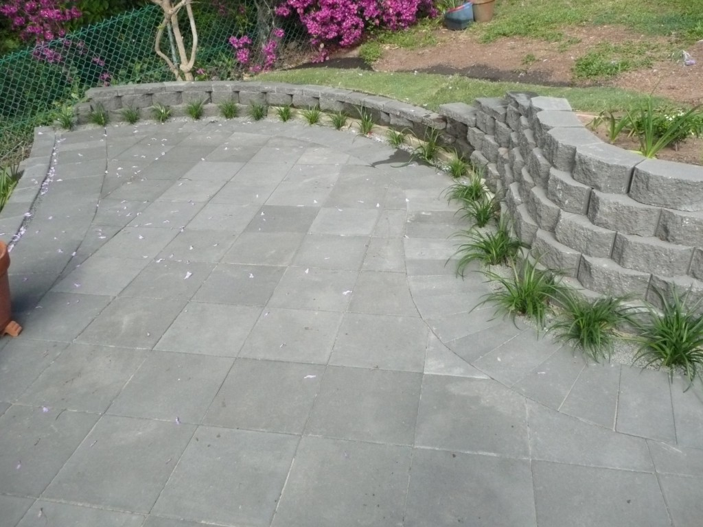 Chapel Hill Rear Paving on r/bse and Sand
