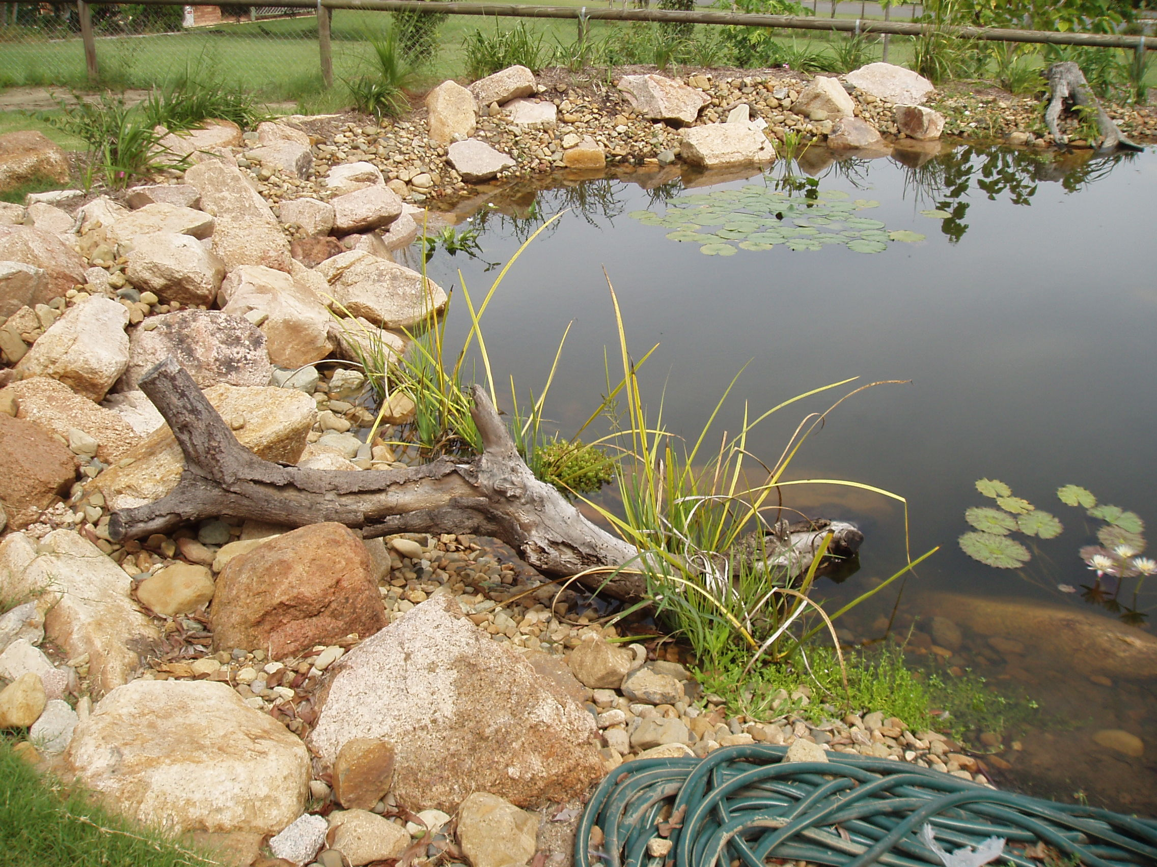 Irrigation/Lights/WaterFeat - St Lucia pond refurb