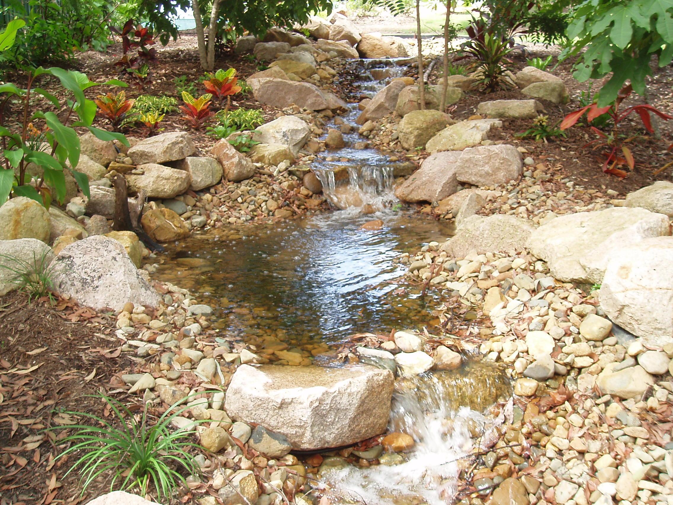 Outdoor Lighting Irrigation Water Features Brisbane