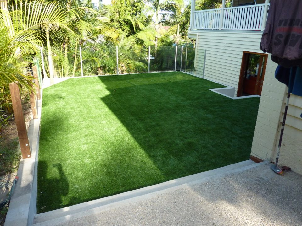 Synthetic Turf - Ashgrove AfterSynthetic Turf - Ashgrove After